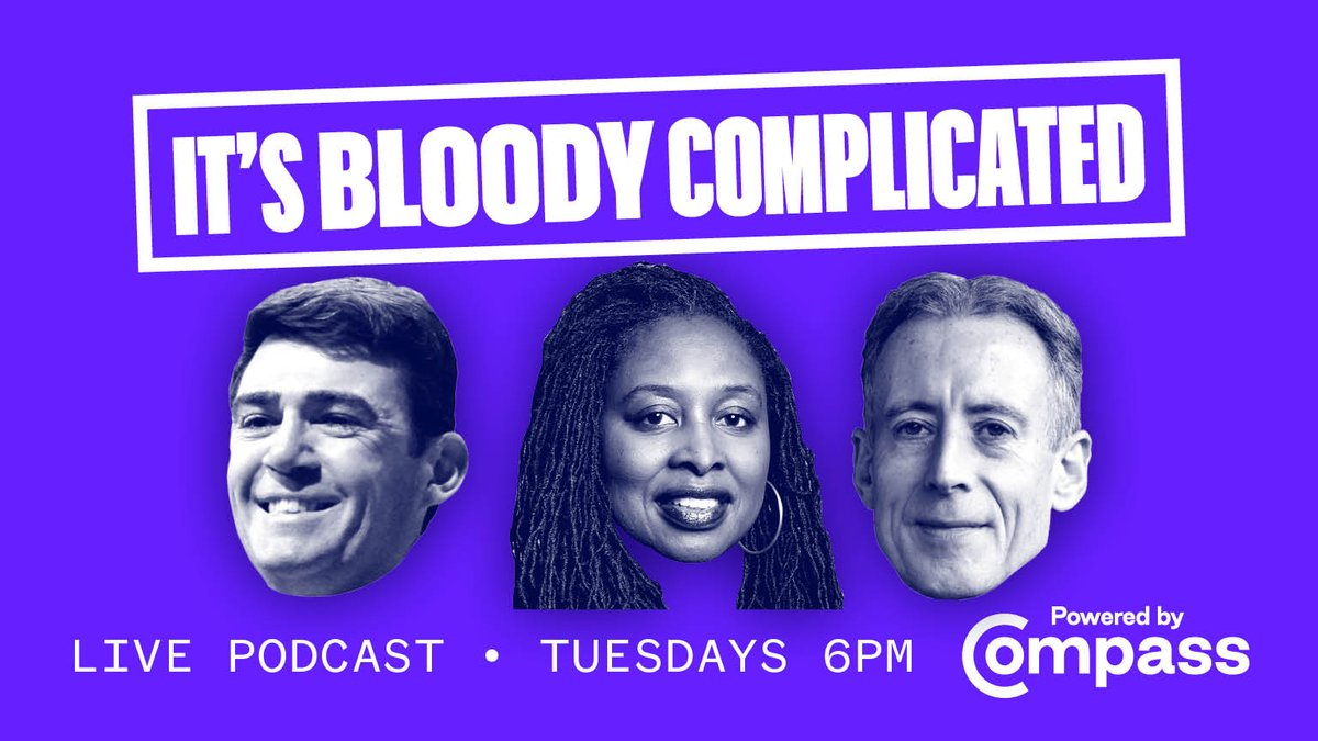 If youd like to support Compass work and be part of our weekly live 🎧 podcast, why not become a member. Over the next few weeks weve got some fantastic guests. Tonight well be talking to Mayor of Greater Manchester @AndyBurnhamGM: ow.ly/BwFY50ArJ4S