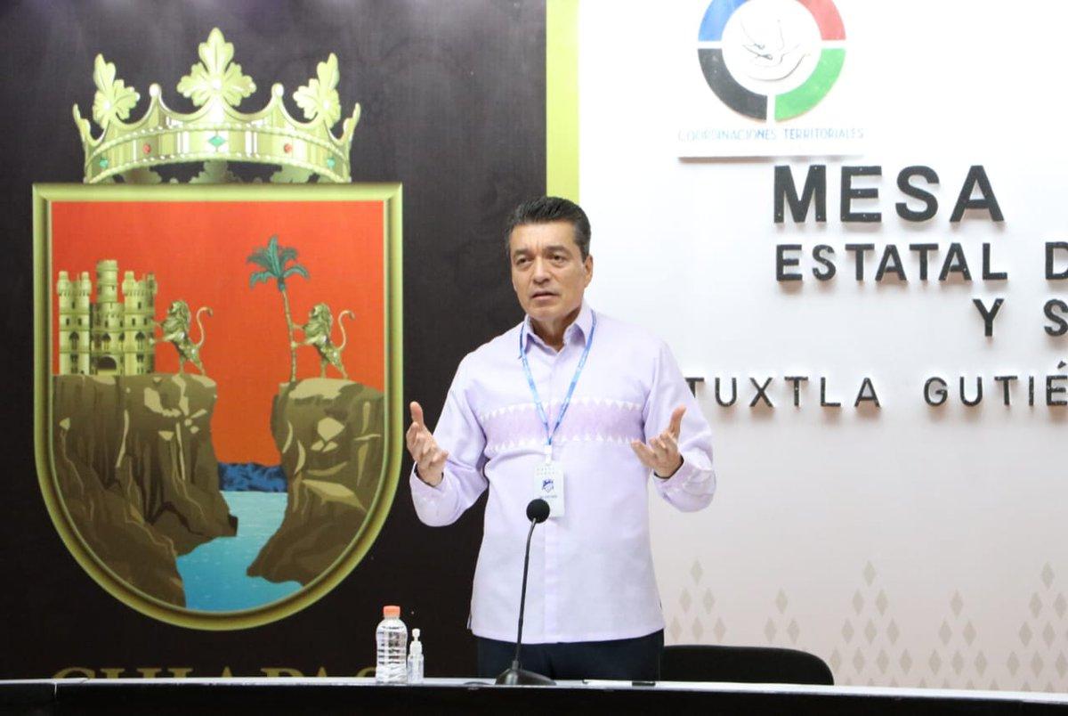 El reforzamiento de las acciones en las #MesasDeSeguridad continúan dando buenos resultados en Chiapas. Seguiremos trabajando con cero impunidad y cero tolerancia en contra de la delincuencia.  ¡Por #ChiapasDeCorazón! https://t.co/VluLDytgTP