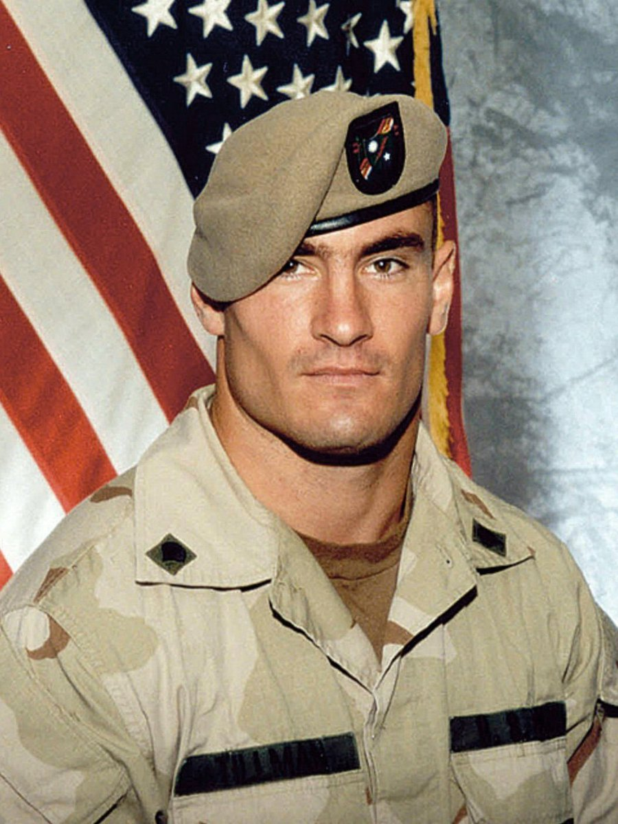 Pat Tillman is a hero. Colin Kaepernick is not. Let's just leave that right there. https://t.co/38xUVX1Fki