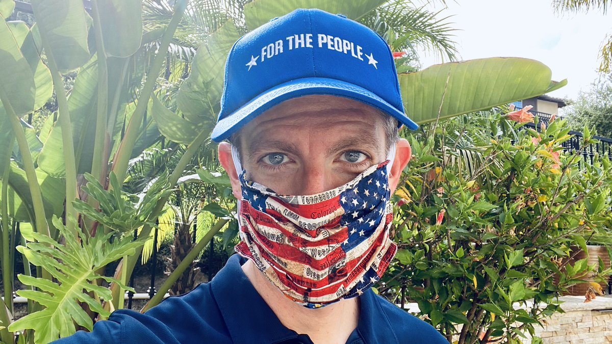Today is another great day to wear a mask and to keep fighting #ForThePeople. https://t.co/k5N4OdsUsn