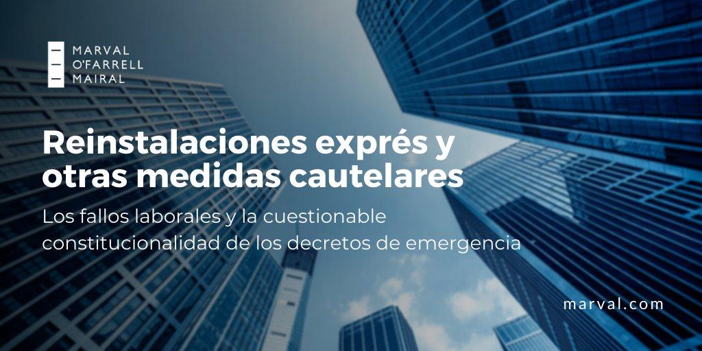 📌 #DerechoLaboral Les compartimos el nuevo artículo escrito por nuestro socio Guillermo Osorio y la asociada Rocío García sobre los efectos y la efectividad de los DNU sancionados en el marco de la pandemia en materia laboral.  Accedé acá: https://t.co/V1k2lk88iK  #trabajo #dnu https://t.co/y4k1zbsUak