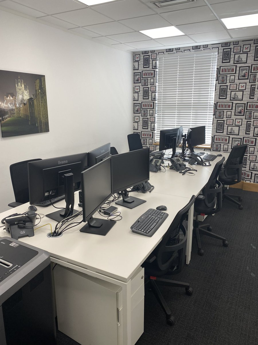 Brand new IT installation completed at Baker Leasing HQ! Contact us for assistance in leasing your IT and other business assets. #leasing #itinstallation #finance #assetleasing https://t.co/MJ6JpsO4Wu
