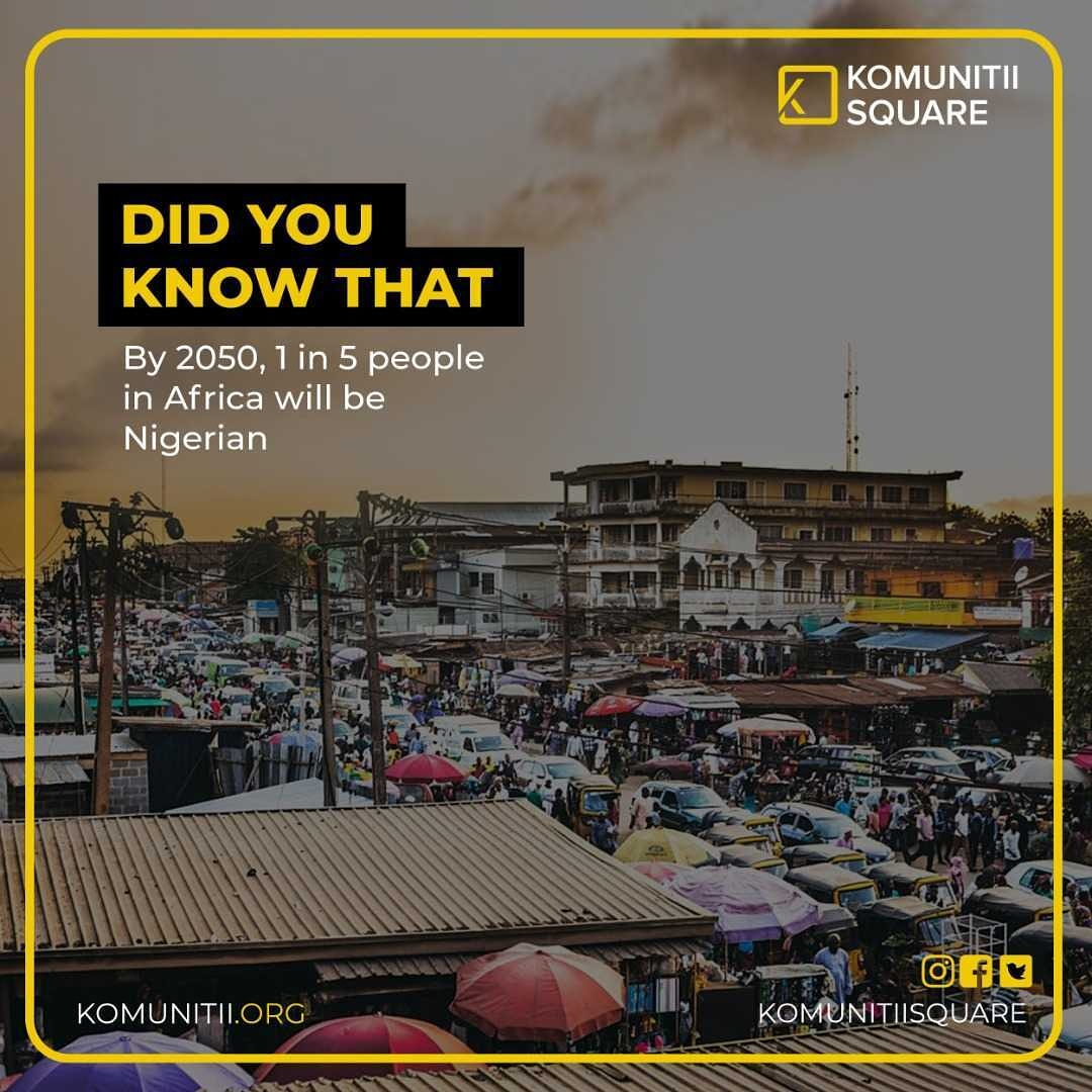 Nigeria's population and human resource power has and will always be an advantage.  How can this be harnessed to drive the much needed growth it needs?  Is the Giant of Africa ready? Share your thoughts.  #TownCrier #komunitiisquare #nigeria #growth #humanresources #africa https://t.co/ERXDLdnIY4