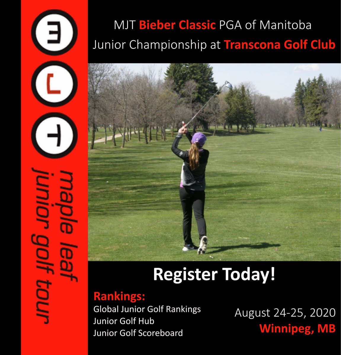 Maple Leaf Junior Golf Tour Mjt On Twitter Mjt Manitoba Golfers Check Out The Rest Of The 2020 Mjt Manitoba Circuit Limited Spots Are Available And Registration Can Be Done On The
