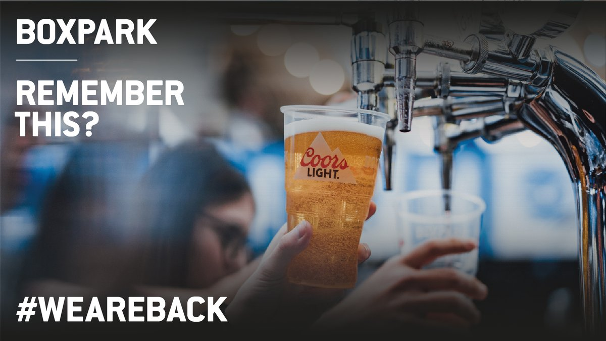 #WeAreBack 🙌 Is there anything better than a drink poured by someone else? Our bars are stocked and ready to go!  Click here to register for your visit 👇 https://t.co/hfbwEae0xD https://t.co/KpsNdF7DZG