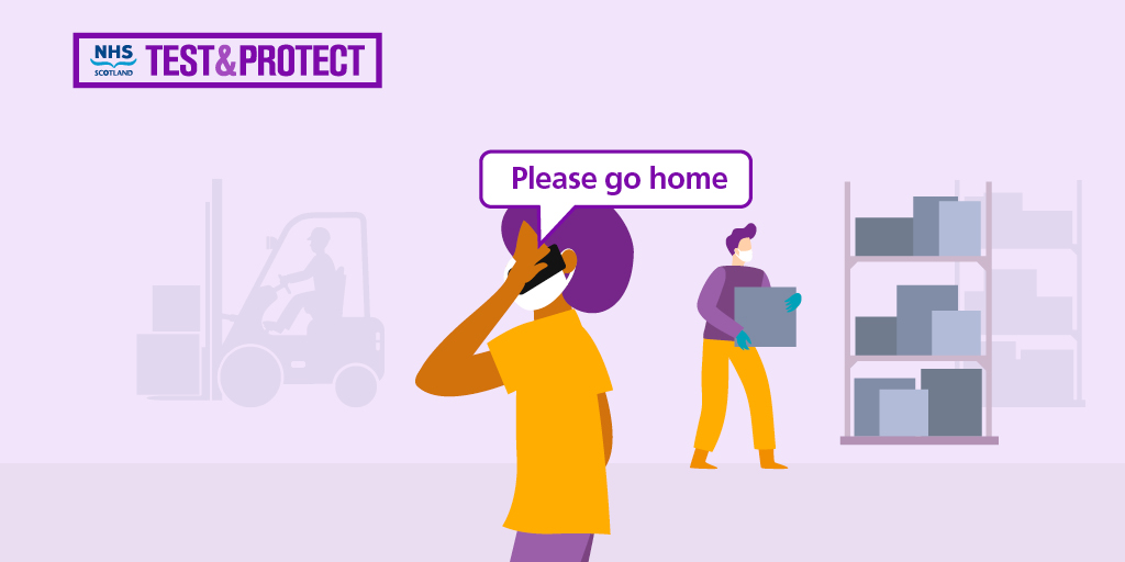 Anyone can be asked to stay at home at any time. That's why it's important to learn about the new NHS Scotland Test and Protect service. Find out what it could mean for you at: bit.ly/3f7nA9j #TestandProtect