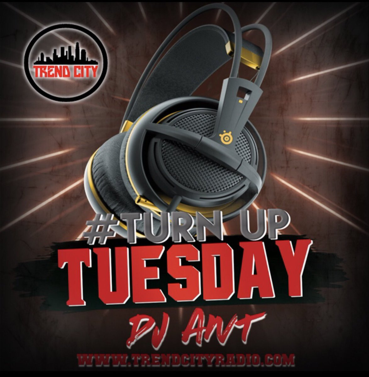 Live Radio, Now playing:  @Cleva_Thoughts - Soak Light  #TurnUpTuesday#NewMusic  Tune in!  http://TrendCityRadio.compic.twitter.com/kQj3Abvnpg