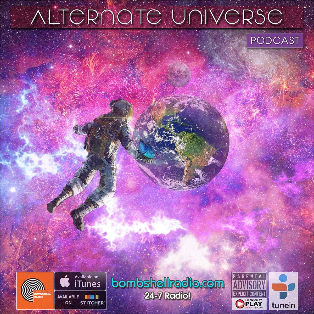 Alternate Universe # 99 Alternate Universe Tuesday's 5pm-6pm EST http://bombshellradio.com  Alternate Universe Today's Bombshell (Bombshell Radio)#AlternateUniverse, #indierock, #BombshellRadio, #alternative, #rock, #Classics, #Radioshow, #NewMusic http://bombshellradio.com/alternate-universe-99/…pic.twitter.com/ES6nUIojeb