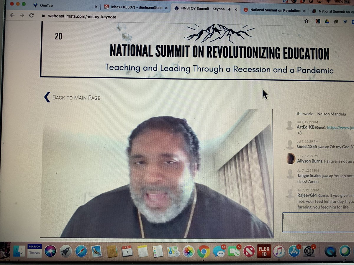 We cannot treat teachers like things and treat corporations which are things as people! @RevBarberII #nnstoy2020