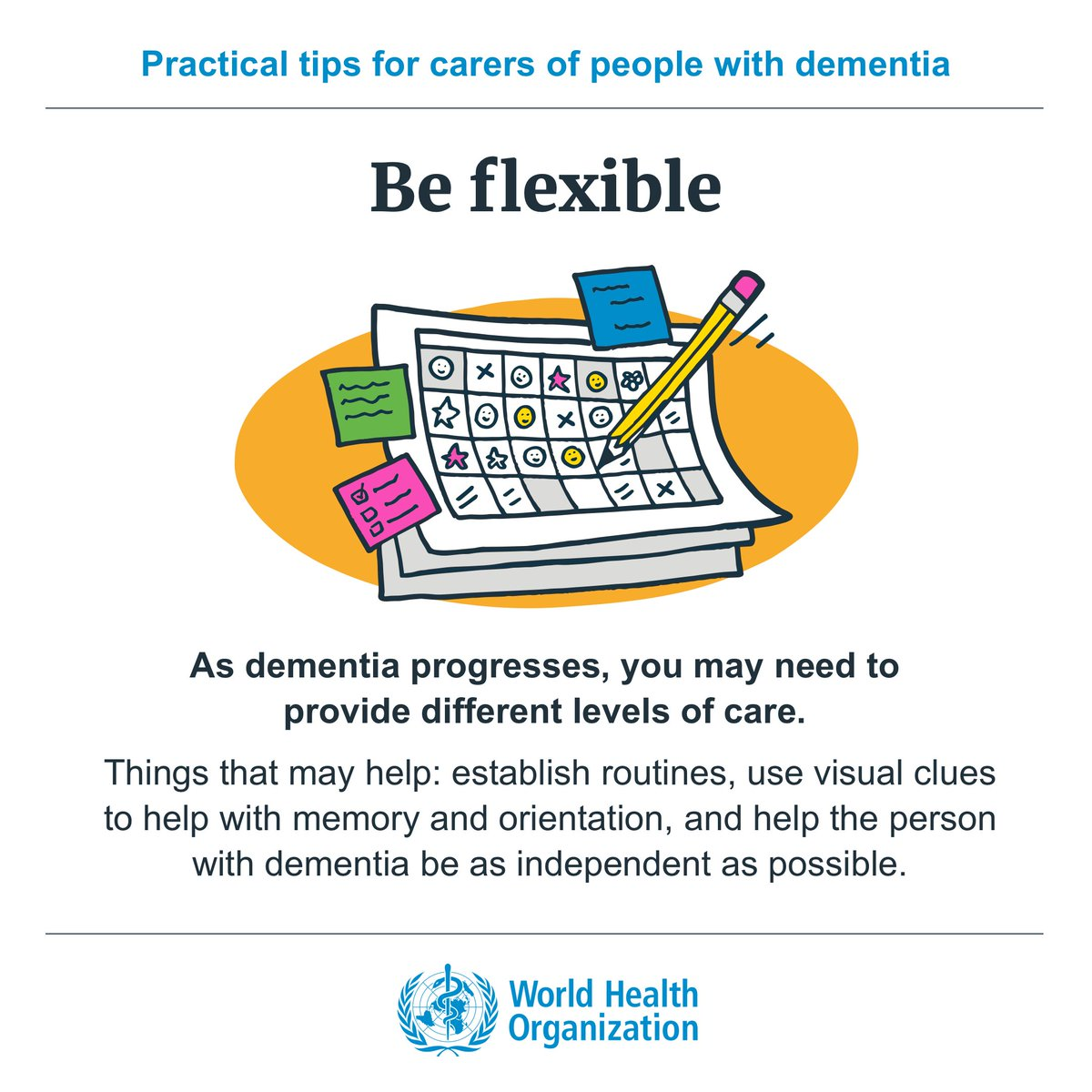 Q: Q: How can I provide every day care to the person with #dementia? A: https://t.co/0UC7ieHW70  #MentalHealth https://t.co/X6XVV3Qr4M