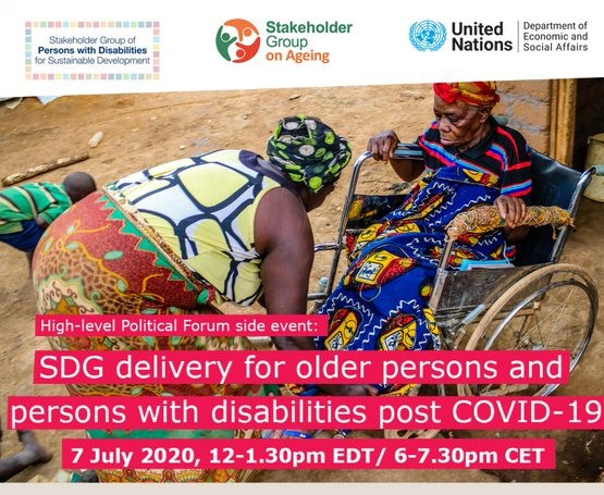 """""""We know post-pandemic world is our new way of life. Let's use the #SDGs to equally include most marginalized groups to build back better, safer, resilient & inclusive communities worldwide"""" says Rosario Galarza, at a #HLPF side-event happening TODAY!➡️ https://t.co/nX6qsgdPhE https://t.co/7WrcqlchJq"""