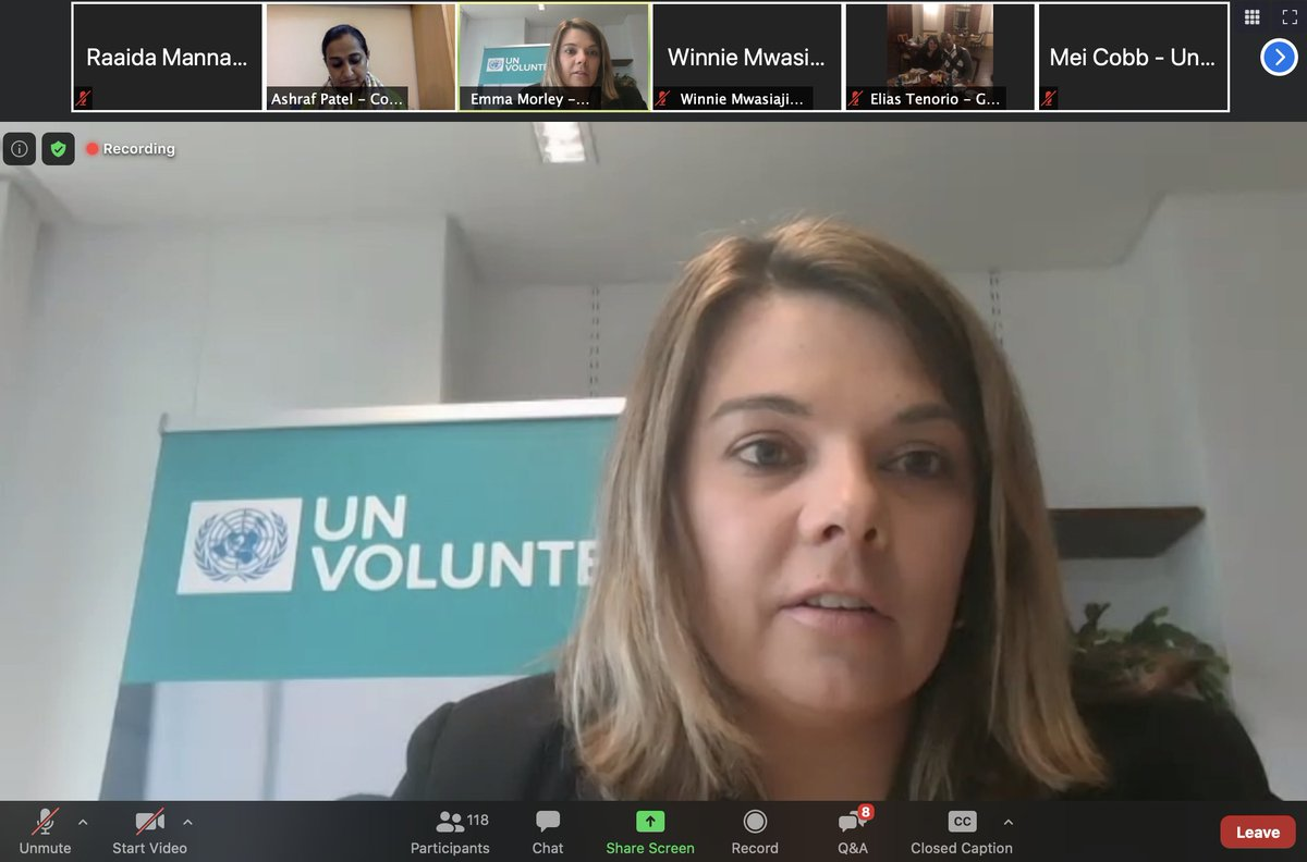 'In the last five years there has been a diverse range of data that speaks on how volunteering is changing and becoming more complex, including considering aspects like types, trends and actions.' @EmmaNMorley @UNVolunteers #SDGs #HLPF2020 https://t.co/6iTQn6sZRn