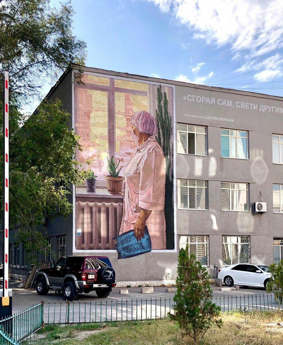 """Сгорая сам, свети другим всегда""  #Бишкек #медицина #здравоохранениеpic.twitter.com/T0RT4FsIy3"