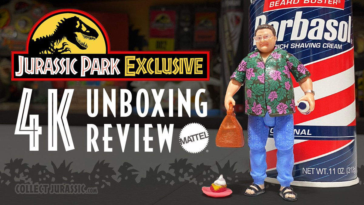 Collect Jurassic On Twitter Now On Youtube Https T Co Vbnawwqkpg Grab Your Shaving Cream Cryo Can And Buckle Up Because We Re Making A Beeline For The East Dock In Our Latest 4k Review Of The