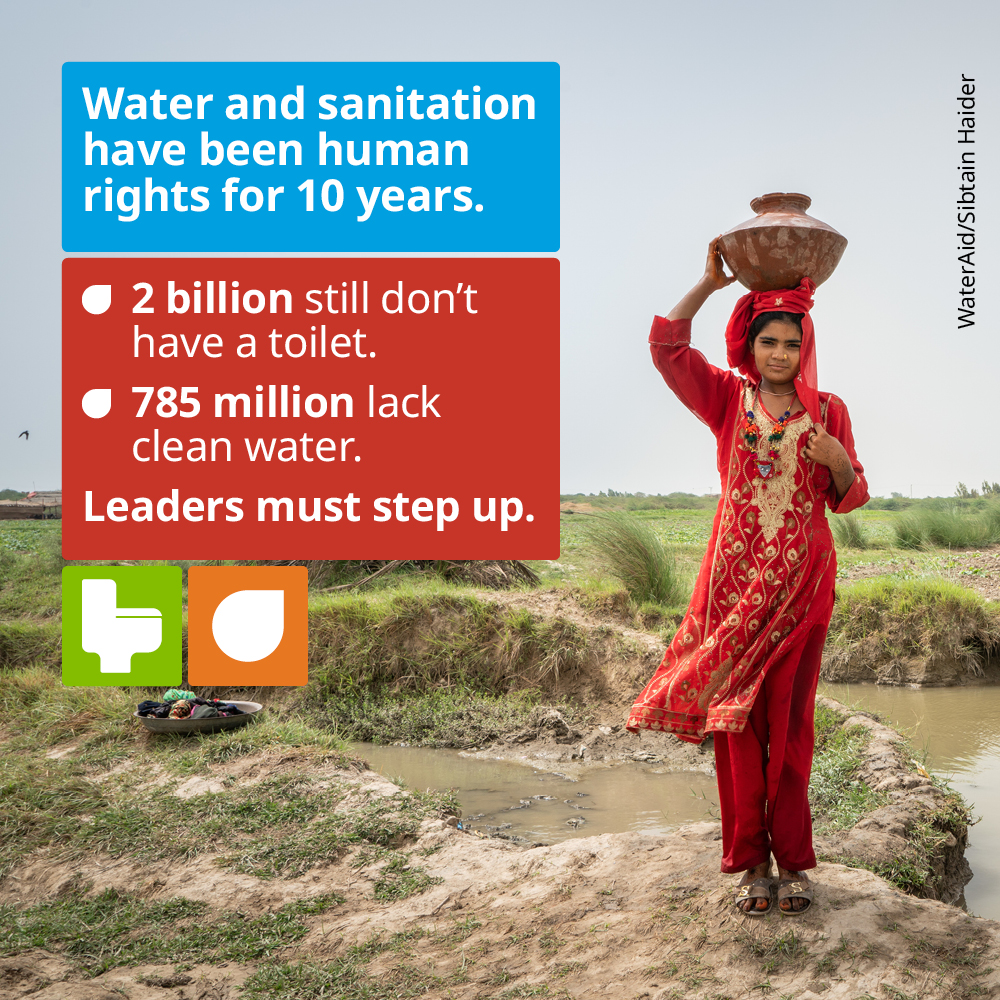 It's unacceptable duty bearers are denying billions of people their #HumanRights to these essential services.  Governments must fulfil their duty to ensure everyone everywhere has the #WASH services they need – for the #SDGs & against #COVID19.  Read more👉https://t.co/EPdZbqIDAc https://t.co/wZYecKz0HV