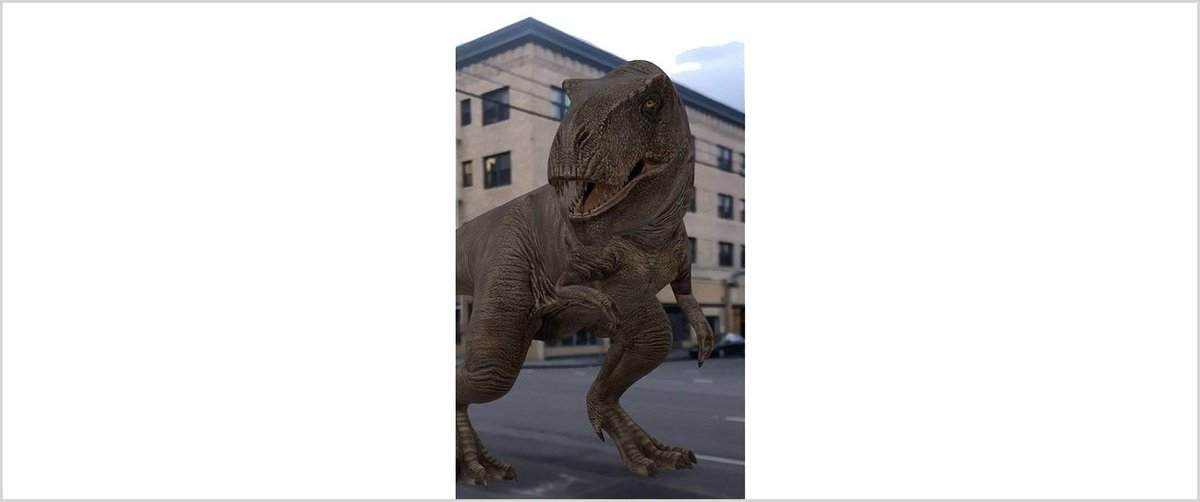 Travel back in time with AR dinosaurs in Search https://t.co/BFpNcXofQ2 #etcoaches #edtech #iaedchat https://t.co/0zJo4Uz1Gf