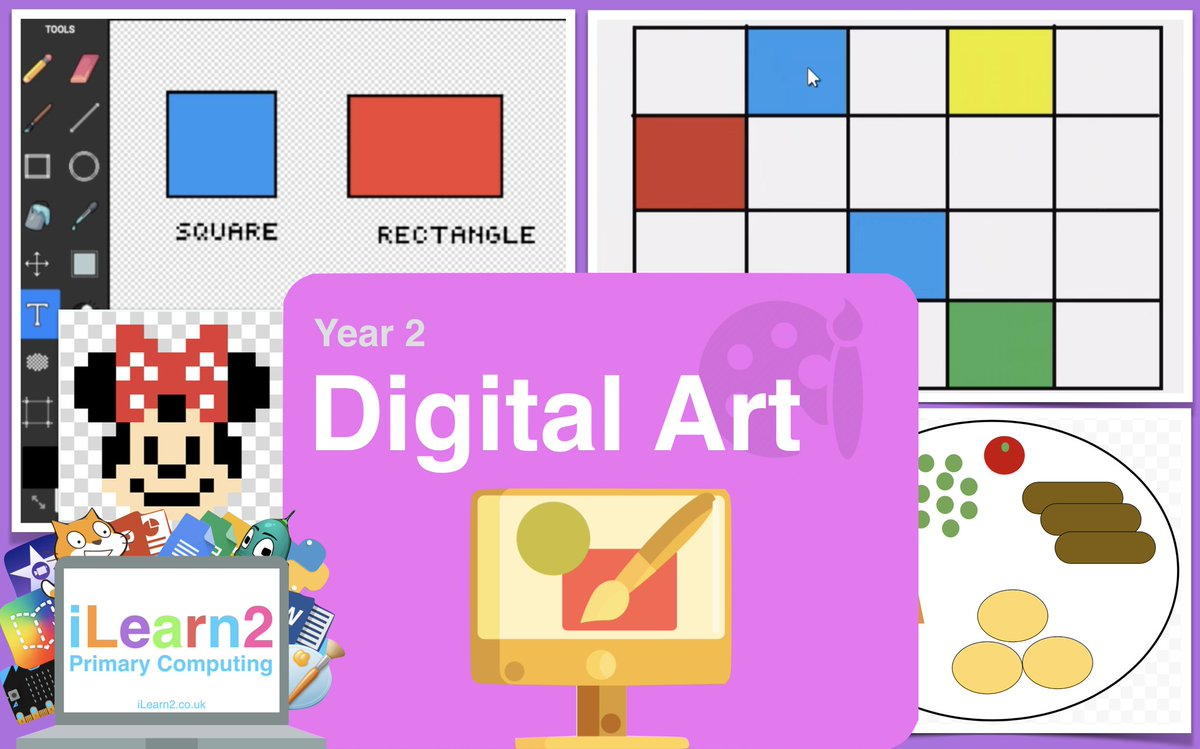 Year 2 Digital Art Pupil Activity Pack for home/school: 4 projects teach pupils important skills with video tutorials using a free, online editor compatible with all devices. Plus teacher notes, assessment grid, extension challenges and more. https://t.co/TQhBpBQKxW #edtech https://t.co/korkUJGx0R
