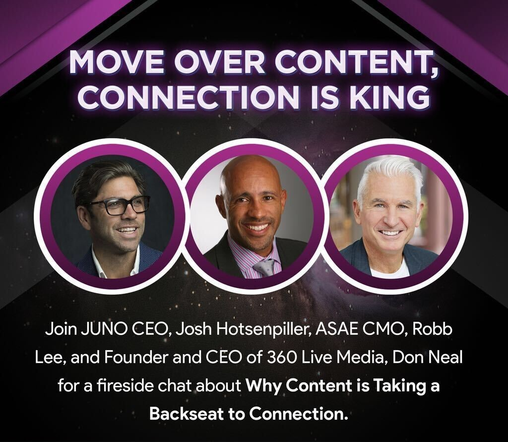 Join @DonNeal360 for his upcoming fireside chat: Why Content is Taking a Back Seat to Connection, on July 15 at 2 p.m. ET. Regster now: https://t.co/aYi6NfKfqp https://t.co/vKub93dlT9
