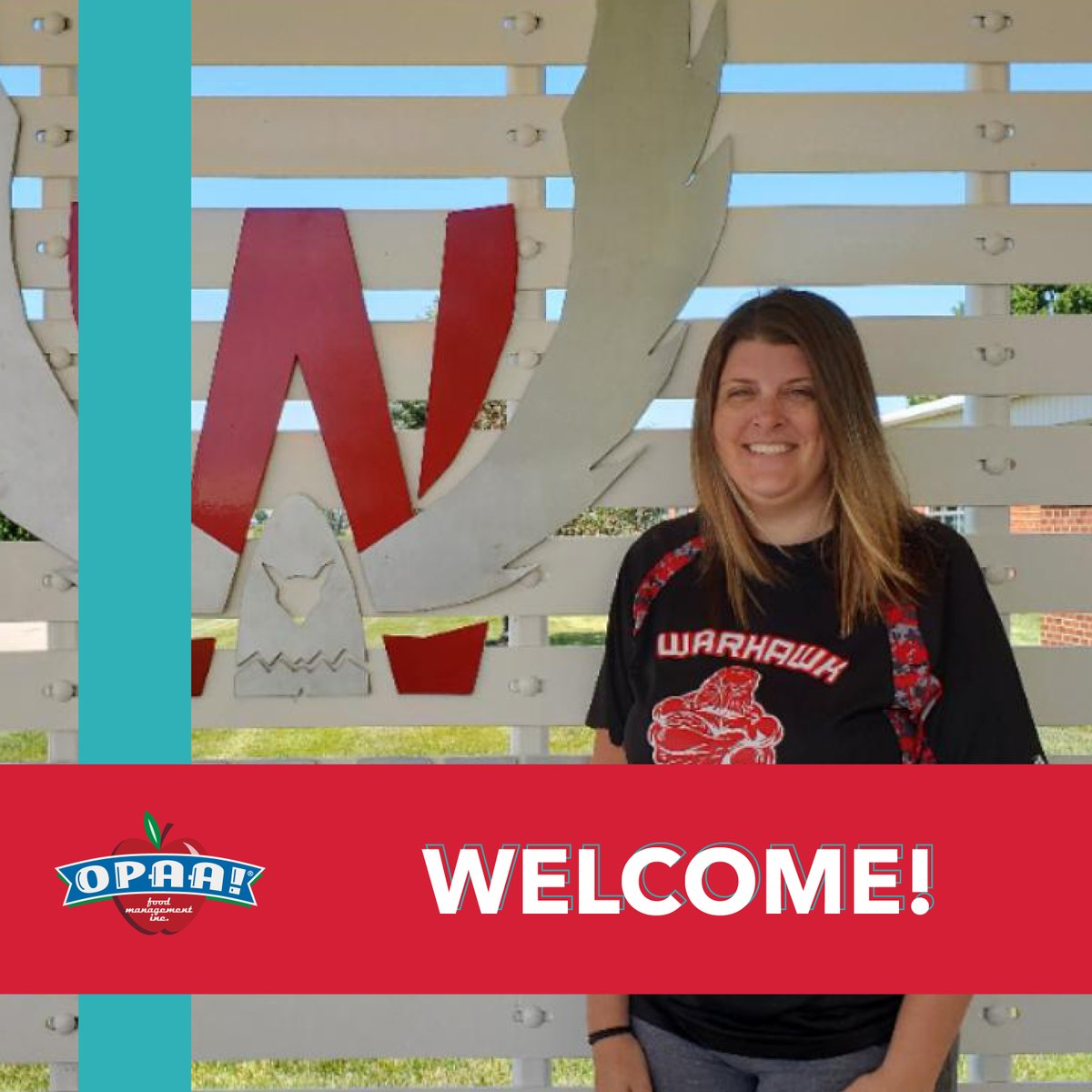 The Wieman Region would like to Welcome Sarah Licth to team Iowa. Sarah is the New Director of Nutrition Services for North Mahaska School. #Welcome #MakeTheirDaypic.twitter.com/BrIyXLRCQA