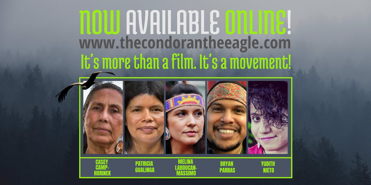 """The film protagonists and the film producers need your support! Please spread the word about our film: . """"The Condor & The Eagle"""" is more than a documentary; it's a movement."""