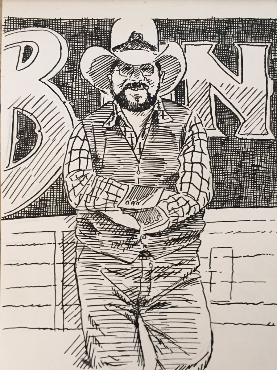 Charlie Daniels, Fiddling Force in Country and Rock #obitpix #charliedaniels #thecharliedanielsband #sexasians singer #songwriter #bandleader #thedevilwentdowntogeorgia #fiddleplayer #artistsoninstagram #penandink #drawing #illustration #portraitpic.twitter.com/IF08hCqjBL