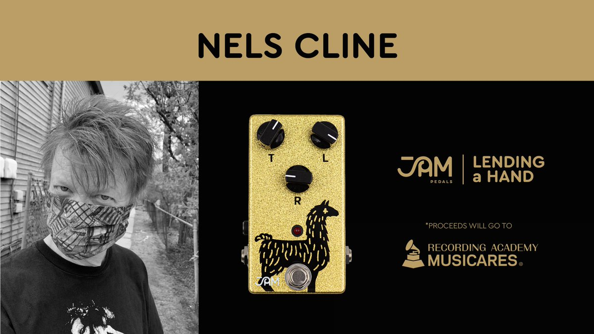 """Greetings, folks! I am participating in JAM Pedals' """"Lending A Hand"""" campaign to assist musicians who have little or no income (and that would be most of us). More info at https://t.co/1ghZQie2ml Thanks much. Peace and good health to you... XO https://t.co/DKqgPpT7kB"""