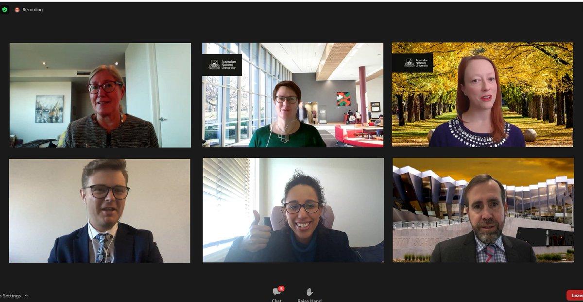 """A Embaixada, em parceria com a @ourANU, participou de uma fantástica série de webinários de nossa conferência anual de liderança para alumni. Especialistas discutiram sobre o tema """"Liderando Pessoas, Mudanças e Impacto Social"""". https://t.co/SzGKsKlaiD"""