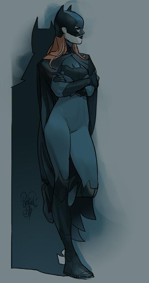 Babs. Done it last year's October.. #Batgirl #BarabaGordon #dccomics