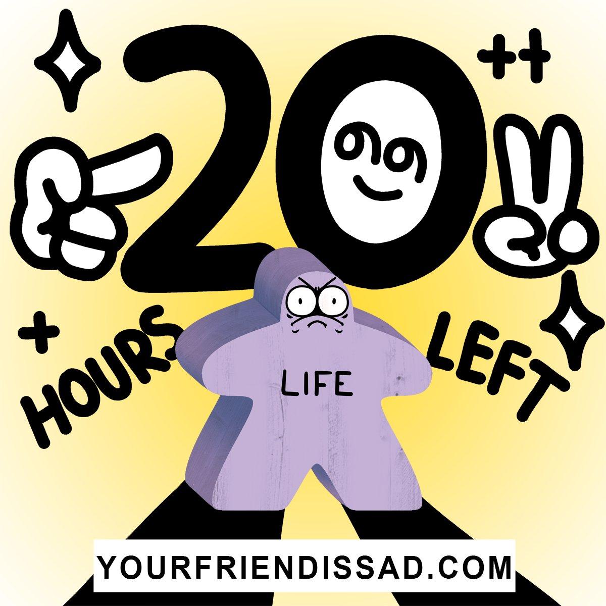 𝗗𝗔𝗪𝗡 𝗢𝗙 𝗧𝗛𝗘 𝗟𝗔𝗦𝗧 𝗗𝗔𝗬. 20 hours remain: kickstarter.com/projects/drink…