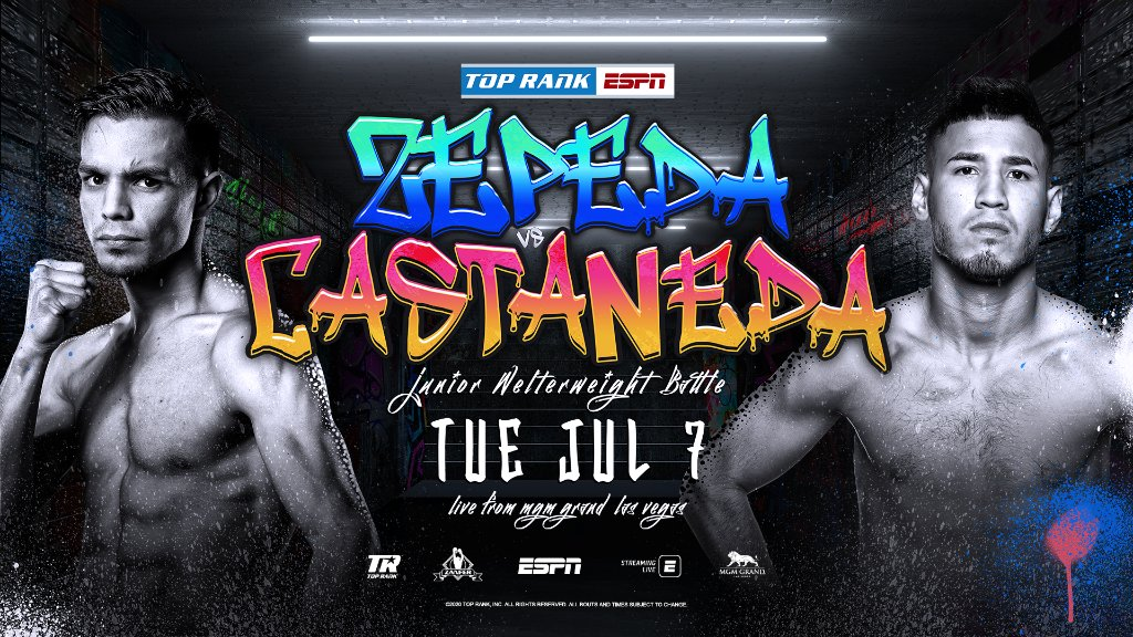Zepeda (-455) 🆚 Castaneda (+333)  📍 @MGMGrand  📺 @espn 🕘 9:00p ET https://t.co/pctPyWYHz6