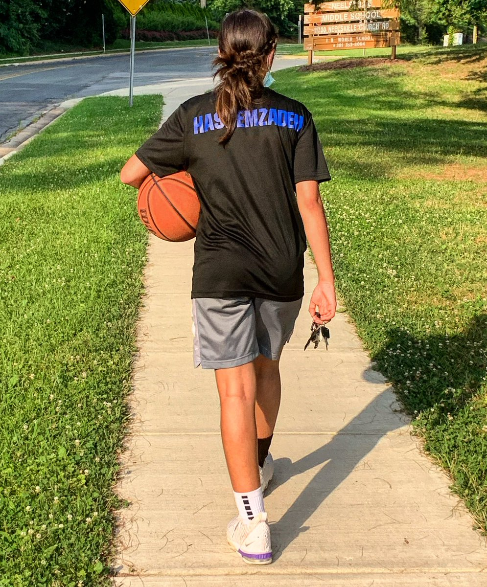 She is growing up on me! Good work today Hashemzadeh. #workouts #basketball #wbb #drills #glp https://t.co/Da92FaFwMY