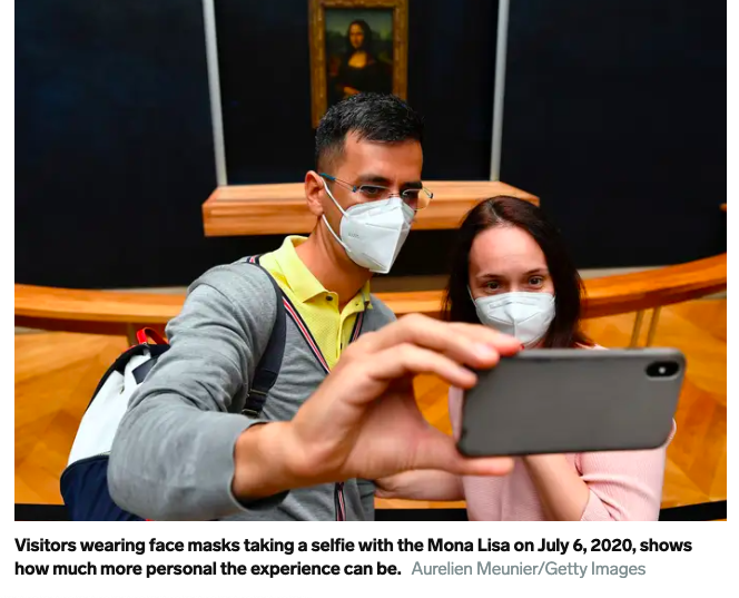 I'm embarrassed for these people, this photo, that caption, and obviously for Mona Lisa