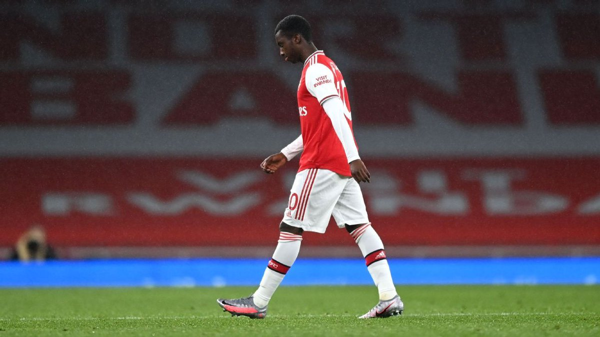 Nketiah sees red, Saka 8/10 as Arsenal miss massive chance in the Champions L... #COYB  https://t.co/7OX5y0sMp1 https://t.co/5zxn5Gg3TG