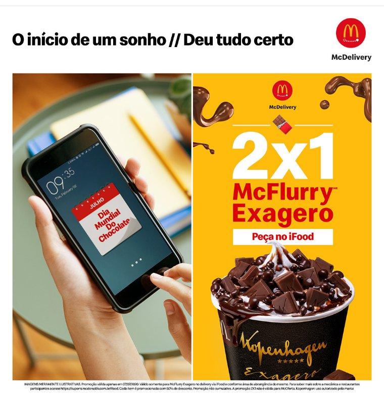 #DiaMundialDoChocolate 🍫#mcdonalds #mcflurry