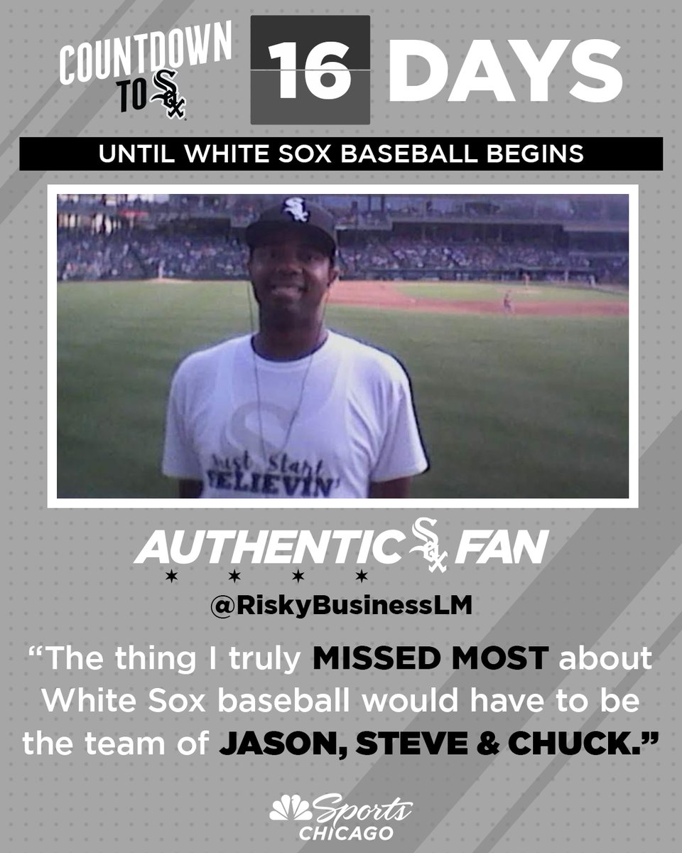You're right, @RiskyBusinessLM...  we all need the @jasonbenetti, @stevestone & @ChuckGarfien team back.   16 days. #AuthenticFan 🖤 https://t.co/Bx5qagC9JZ