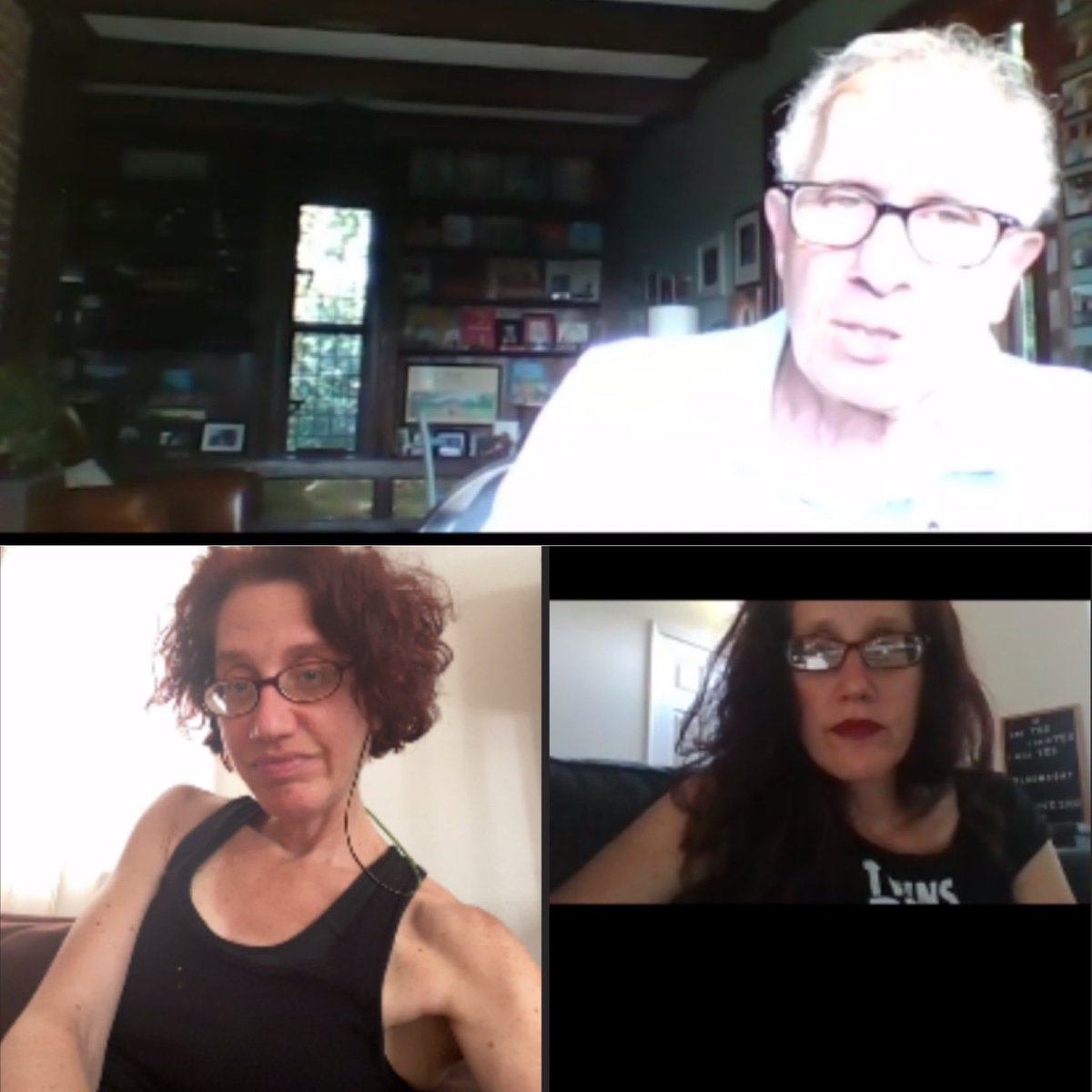 Thanks to @CoachZoni for offering the @runcville meeting on Zoom!  It was as great to meet other runners & see @LeahCville again!  P.S. Sign me up if you offer a socially distanced Rivanna Greenbelt Marathon this year! pic.twitter.com/k1S8PdC91w