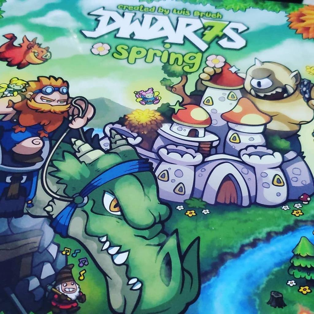 A primavera de @brueh.games chegando! Dwar7s Spring na mão.  #bgg #bgbr #boardgames #jogosdetabuleiro #jeuxdesociété #juegosdemesa #giochidatavolo https://t.co/UXVzabCPvZ https://t.co/gM9ULRRnfG