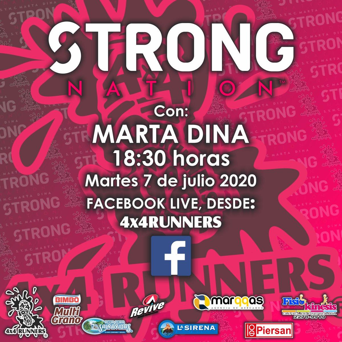 #QuedateEnCasa #EjercitateEnCasa #somos4x4runners #JuntosSaldremosAdelanteGuatemala #ArribaLosCorazones #4x4runners #KeepRunning #StrongNation #StrongNationbyMartaDinapic.twitter.com/KAFfObR9rR