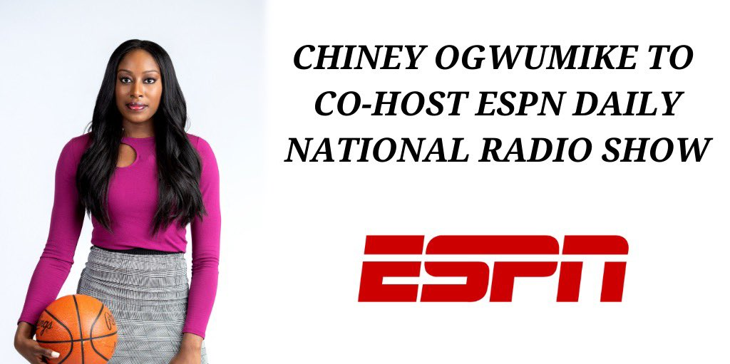 I've got news: pressing pause on playing ball this season was tough, but sometimes taking a step back can lead to an unexpected step forward.  I am thrilled to co-host a new daily, national radio show for @ESPN. Ready to rep this generation and show that voices like mine matter. https://t.co/cRqtLzUw5l