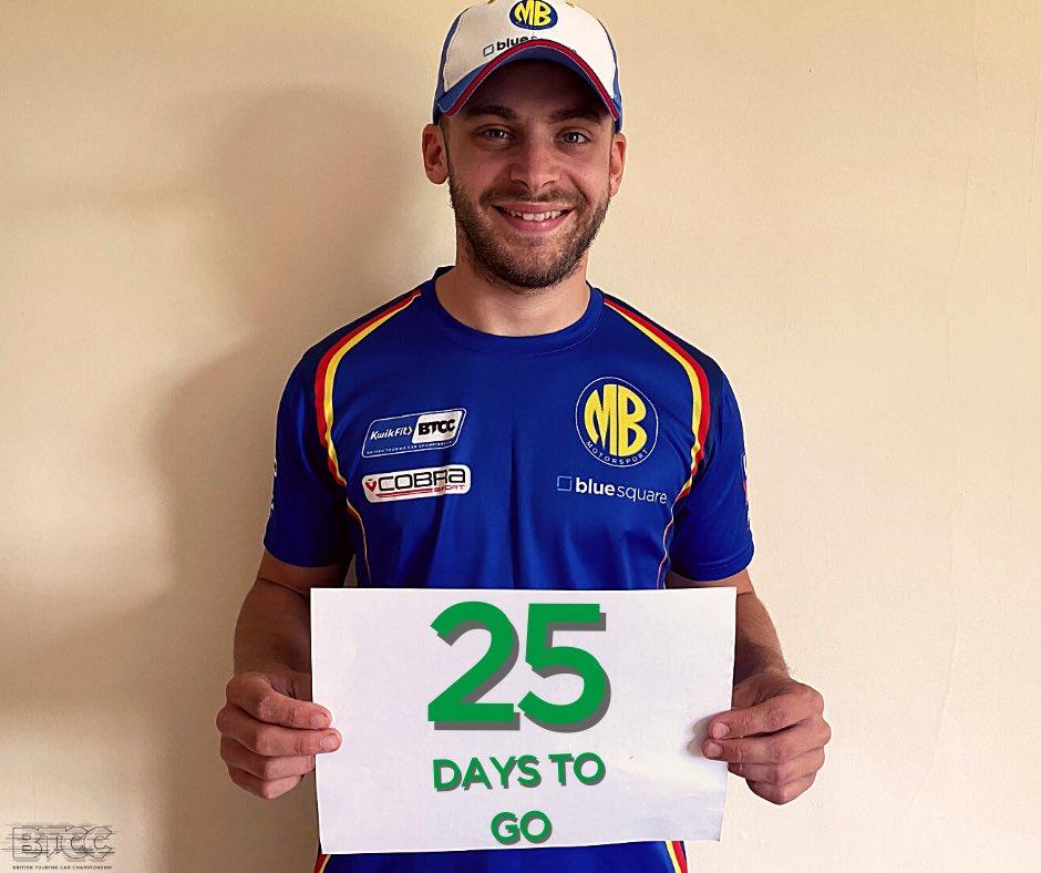 The countdown continues... 🤩  #BTCC https://t.co/3pTnJHLT69
