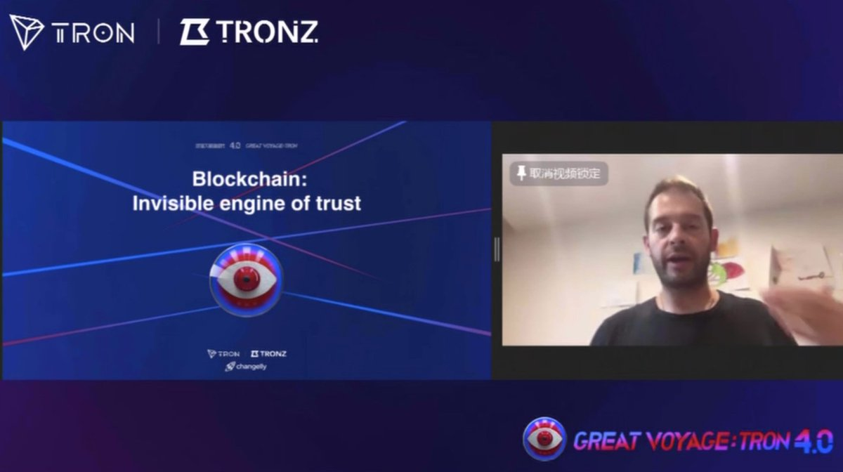 🎥Great Voyage: #TRON 4.0, #TRONConference on July 7, 13:00(UTC)  👨Guest: Eric Benz @ericbenz84, CEO of @Changelly_team  📋Topic: #Blockchain, invisible engine of trust  #TRONGrandVoyage #TRX #TRONConference https://t.co/zNpwWmbliX