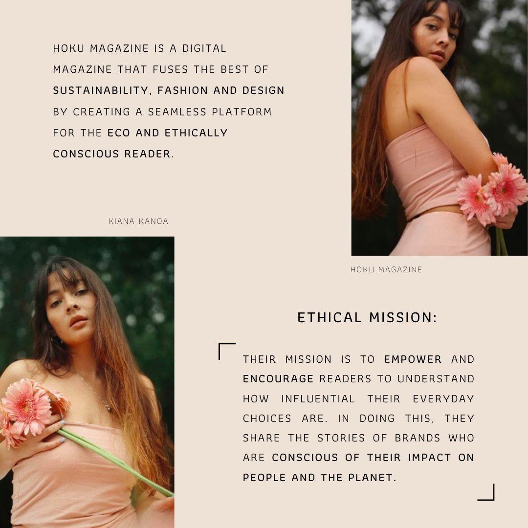 Recent @bentleyu graduate, Kiana Kanoa, is co-founder of the online #Sustainable lifestyle magazine, HOKU. https://t.co/RPEWuwa1rE is dedicated to fusing the best of sustainability, #fashion, & #design, & that's why we applaud #Hawaiian native, Kiana as an #EthicalEntrepreneur! https://t.co/izaRxk3XXb