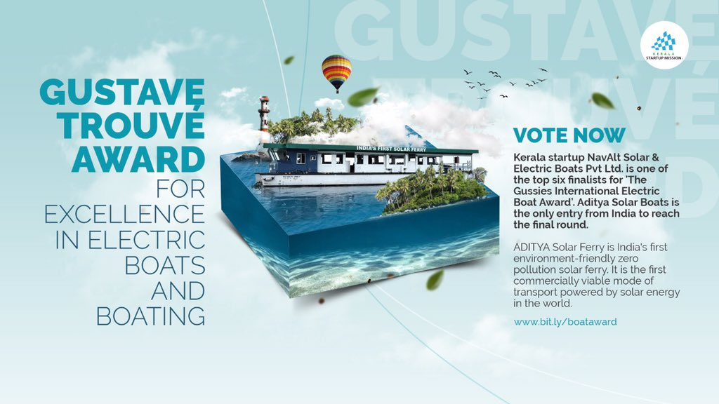 Aditya wins Gustave Trouve Award