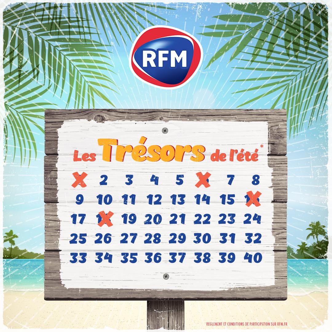 🎁 Les  #TrésorsDeLété n'attendent que vous !!  A tout moment inscrivez-vous au 39 16 (0,50cts/min) ou par sms code TRESORS au 7 39 16 (2x0.75cts + coût SMS) ! 🤞 🎙️ Et rendez-vous chaque jour à 8h35 et 11h35 sur #RFM ;) https://t.co/hwfSGAvFKv