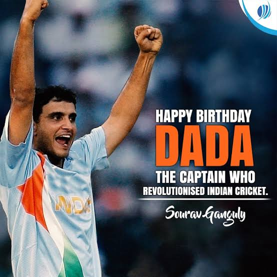 Formar Indian Cricket Team Captain Sourav Ganguly Celebrating his 48th  Birthday Today. #HappyBirthdayDada #HappyBirthdayGanguly #SouravGangulypic.twitter.com/WXFrdU0PLG