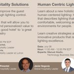 #HospitalitySmartTalks  Smart tips & solutions to help prepare for the future. Learn how the way you think about #lighting can improve the guest experience.  Human Centric Lighting/HXL: 7/8, 11am EST  Register to watch live & catch the replay anytime.  https://t.co/IprNe5Ik4H