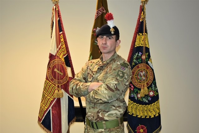 It is with great sadness that we announce the death of Fusilier Sam Brownridge, 23, a soldier from The First Battalion, The Royal Regiment of Fusiliers. Our thoughts are with his family and friends at this tragic time. https://t.co/0x9mULdmUg https://t.co/RnjIrM3Aot