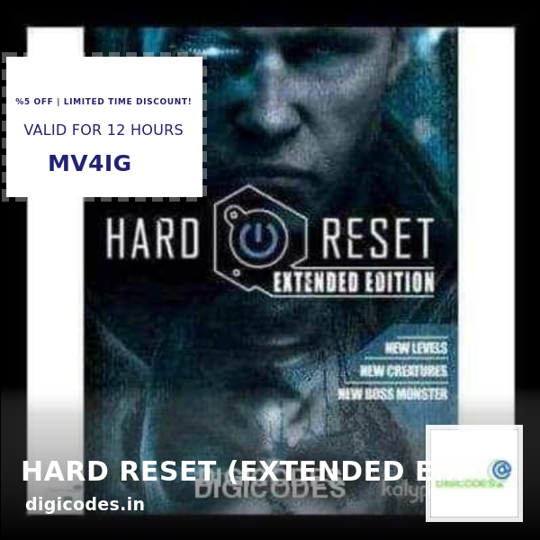 Check out this product HARD RESET (EXTENDED EDITION) (INSTANT DELIVERY)  starting at ₹ 323.99 INR.  Show now 👉👉 https://t.co/gcnYP83azB  #games #videogame #videogames #digicodes https://t.co/mdm5pT5f7j