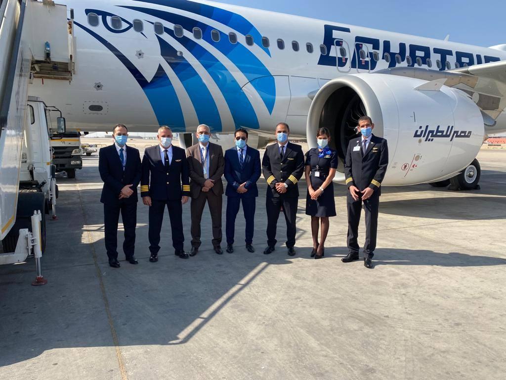 @EGYPTAIR received its 5th & 6th @Airbus A320neos (SU-GFN & SU-GFO).  📷/@EGYPTAIR  #aviation #AvGeek #airbus #a320neo #Egypt #Cairo #airbus  #aviationnews https://t.co/sjA1du1LaV