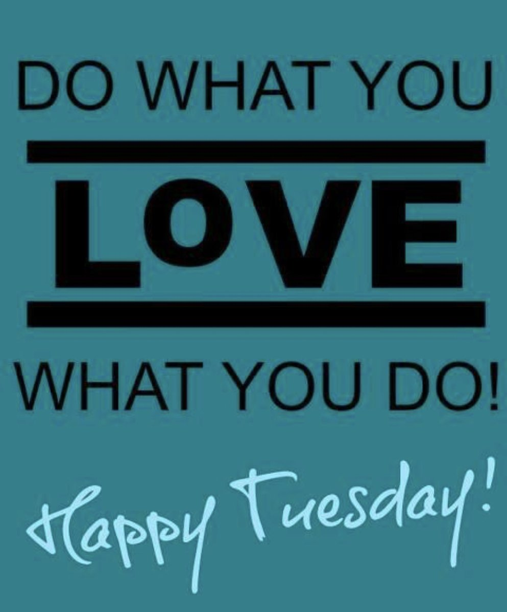 Happy Tuesday!  Do what you love and love what you do! http://vectortalent.com #tuesdaymotivation #transformationtuesday #lovewhatyoudo #dowhatyoulove pic.twitter.com/EX7yODt88b